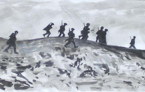 Histoire ikerzaleak - Dessin de soldat ...